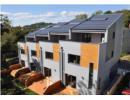 Khu nhà phố tiết kiệm năng lượng và sáng tạo